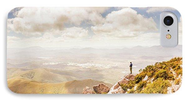 Scenic View Of Mt Zeehan, Tasmania, Australia IPhone Case by Jorgo Photography - Wall Art Gallery