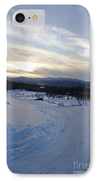 Scenic Vista From Marshfield Station In The White Mountains New Hampshire Usa Phone Case by Erin Paul Donovan