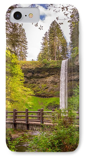 Scenic Waterfalls IPhone Case by Jerry Cahill