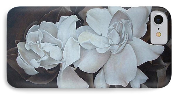 Scent Of Gardenias Phone Case by Daniela Easter