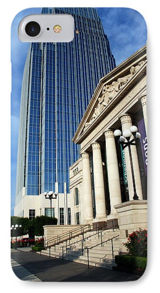 Schermerhorn Symphony Center Nashville IPhone Case by Susanne Van Hulst
