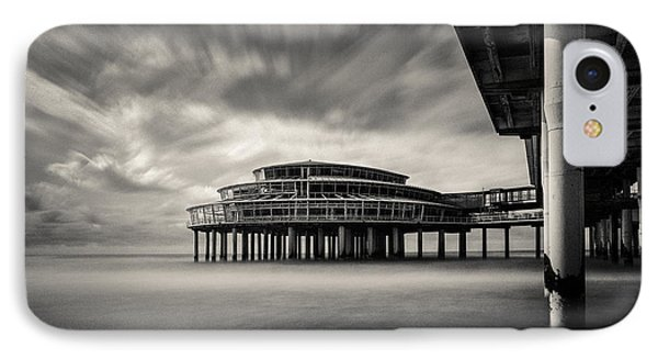 Scheveningen Pier 1 IPhone Case by Dave Bowman