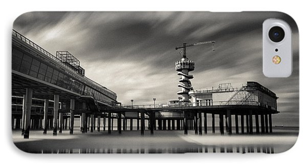 Scheveningen Pier 2 IPhone Case by Dave Bowman