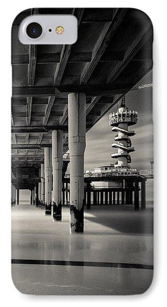 Scheveningen Pier 3 IPhone Case by Dave Bowman