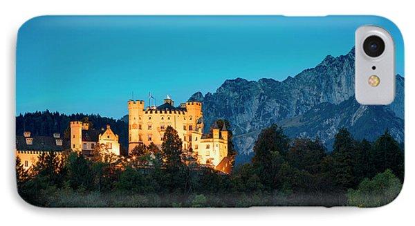 IPhone Case featuring the photograph Schloss Hohenschwangau by Brian Jannsen