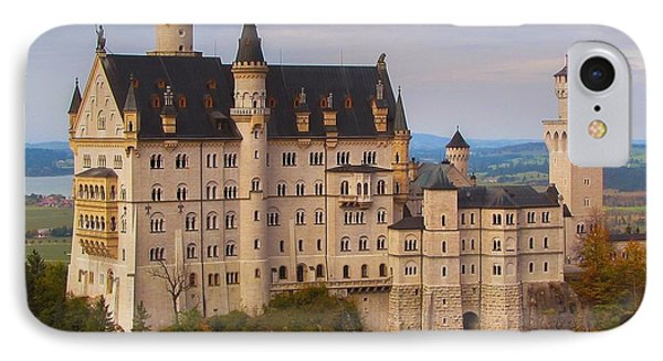 IPhone Case featuring the photograph Schloss Neuschwanstein by Franziskus Pfleghart