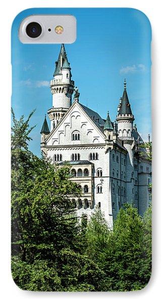 IPhone Case featuring the photograph Schloss Neuschwantstein by David Morefield