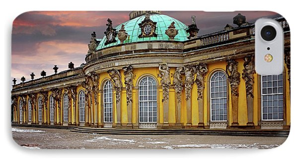 Schloss Sanssouci Potsdam  IPhone Case by Carol Japp