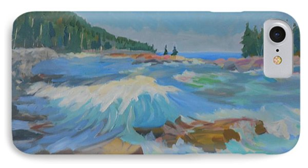 IPhone Case featuring the painting Schoodic Inlet by Francine Frank