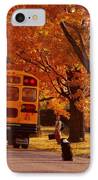 Good Bye Friend I. Vermont IPhone Case