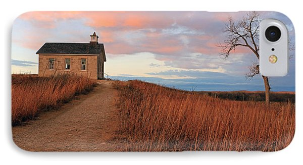 School House Road IPhone Case