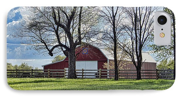 IPhone Case featuring the photograph Schooler Road Barn by Cricket Hackmann