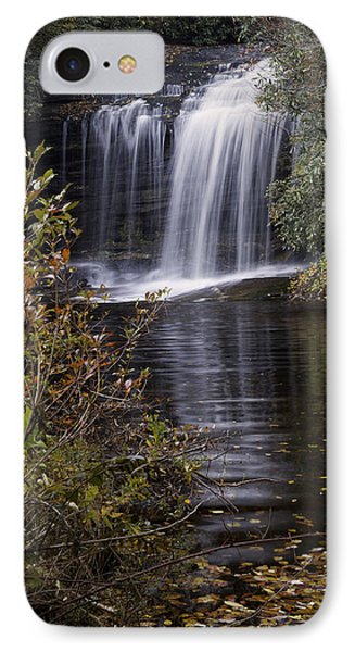 Schoolhouse Falls Phone Case by Rob Travis