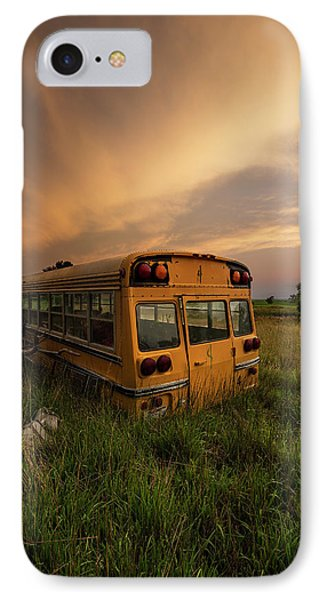 IPhone Case featuring the photograph School's Out  by Aaron J Groen