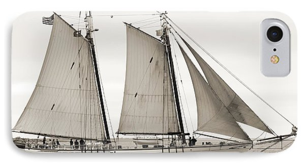 Schooner Harvey Gamage Of Islesboro Maine IPhone Case