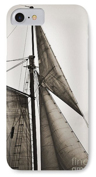 Schooner Pride Tall Ship Yankee Sail Charleston Sc IPhone Case by Dustin K Ryan