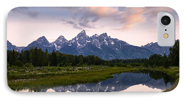 IPhone Case featuring the photograph Schwabacher Landing In 60 Seconds by Dan Mihai