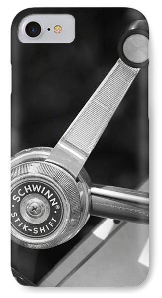 Schwinn Stik-shift Phone Case by Lauri Novak
