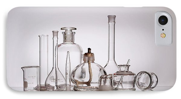 Scientific Glassware IPhone Case by Tom Mc Nemar
