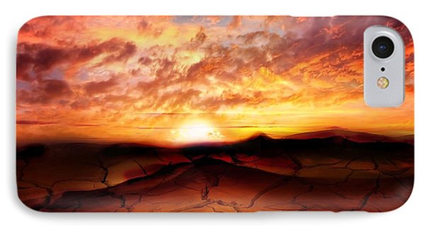 Scorched Earth IPhone Case by Jacky Gerritsen