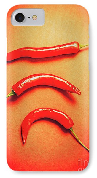 Scorching Food Background IPhone Case