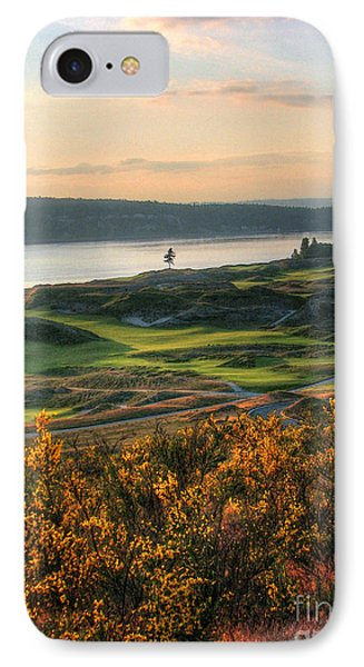 Scotch Broom -chambers Bay Golf Course IPhone Case by Chris Anderson