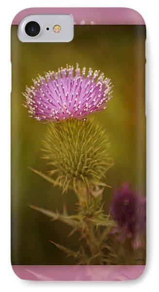 Scotch Thistle IPhone Case