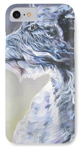 Scottish Deerhound Phone Case by Lee Ann Shepard