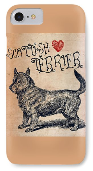 Scottish Terrier IPhone Case