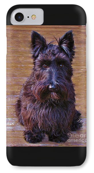 IPhone Case featuring the photograph Scottish Terrier by Michele Penner