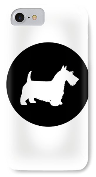 Scottish Terrier IPhone Case by Mordax Furittus