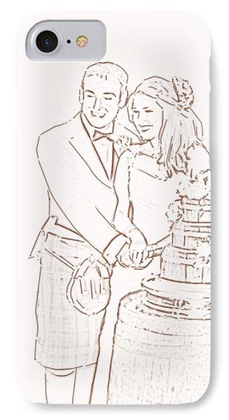Scottish Wedding IPhone Case by Olimpia - Hinamatsuri Barbu