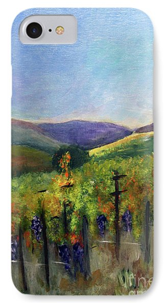Scotts Vineyard IPhone Case by Donna Walsh