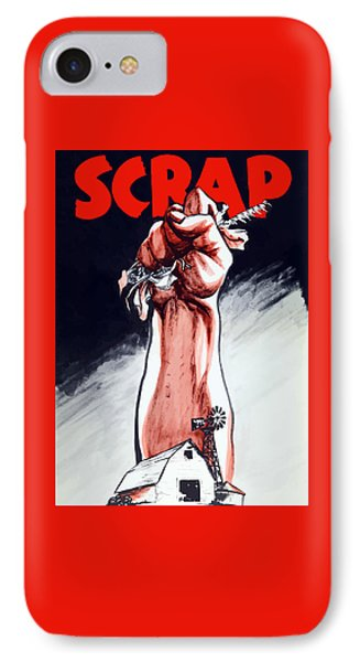 Scrap - Ww2 Propaganda IPhone Case by War Is Hell Store