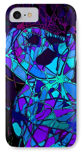 Screaming In Pain IPhone Case by Megan Howard