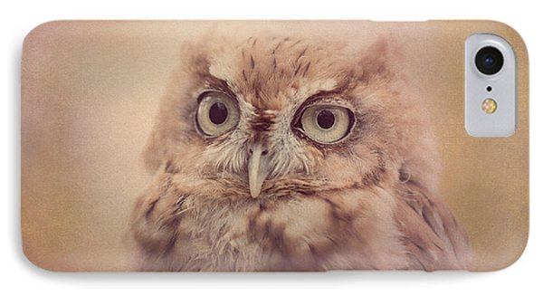 IPhone Case featuring the photograph Screech Owl 4 by Chris Scroggins
