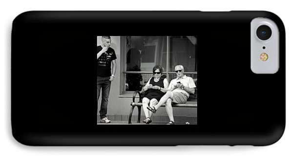 Screen Generation IPhone Case by David Gilbert