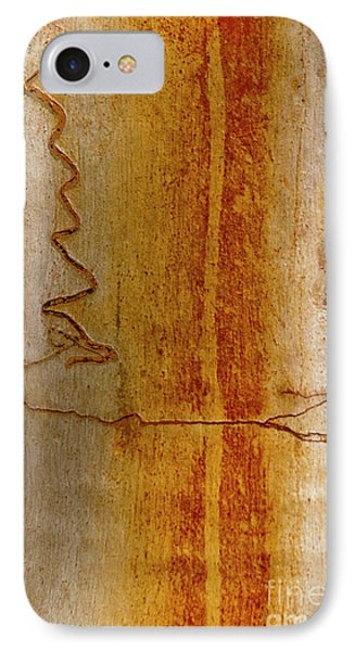 IPhone 7 Case featuring the photograph Scribbly Gum Bark by Werner Padarin