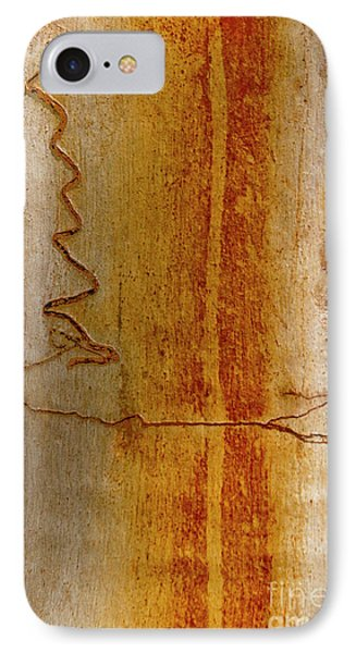 IPhone Case featuring the photograph Scribbly Gum Bark by Werner Padarin