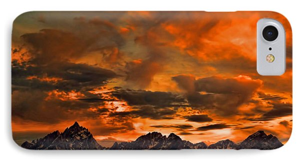 Scripture And Picture Psalm 121 1 2 IPhone Case by Ken Smith
