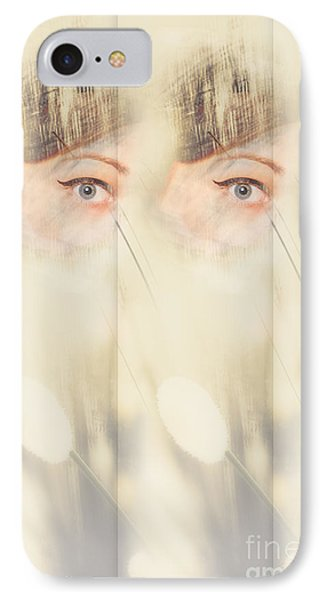 Scrying Parallel Lives IPhone Case