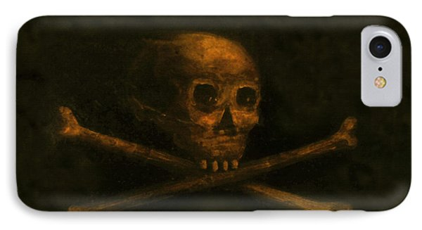 Scull And Crossbones Phone Case by David Lee Thompson