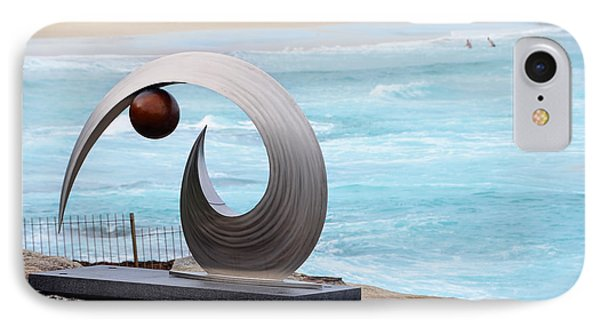 Sculpture By The Sea - Balance And Curves  - Photograph By Kaye Menner IPhone Case