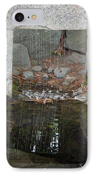 Sculpture Garden II Phone Case by Suzanne Gaff