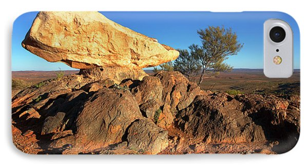 IPhone Case featuring the photograph Sculpture Park Broken Hill by Bill Robinson