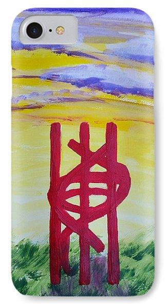 Sculpture Park IPhone Case by Carol Duarte