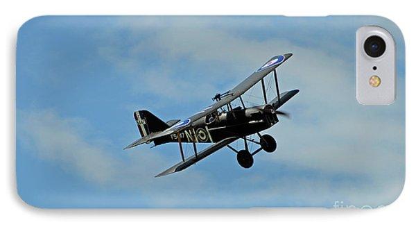 Se-5a Biplane, Montrose, Scotland, Uk, 2014 IPhone Case