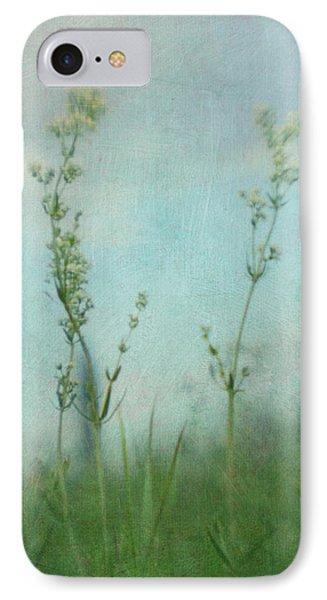 Summer Meadow Poem 3 IPhone Case by Priska Wettstein