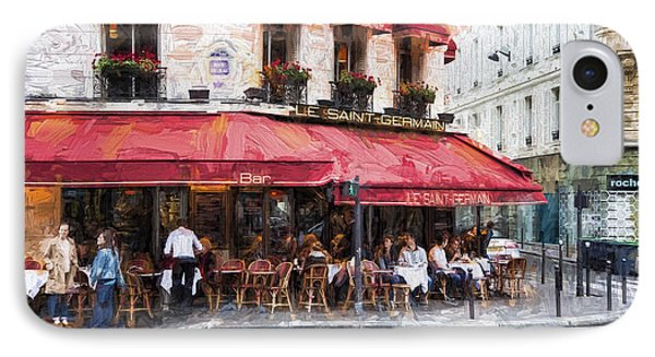 Le Saint Germain IPhone Case by John Rivera
