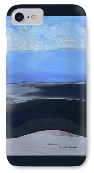 Sea And Sky IPhone Case by Lenore Senior